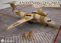 Antonov-74T-200A Egypt - Air Force