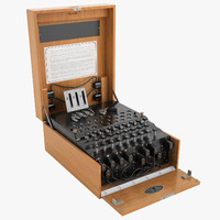 Enigma Cipher Machine 01