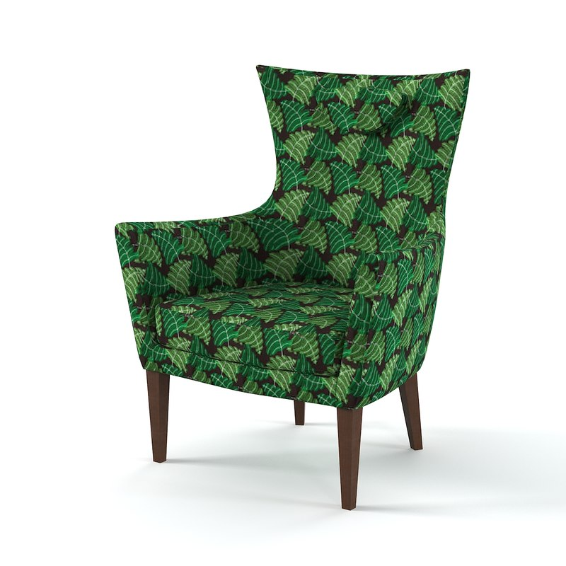 ikea stokholm chair 3d max