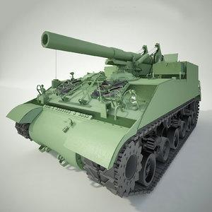 tank m40 3d model