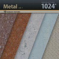 Metal Textures 1024x1024 vol.1