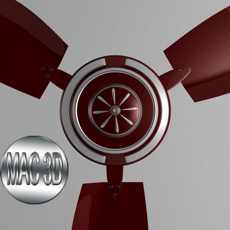 roof fan 3ds
