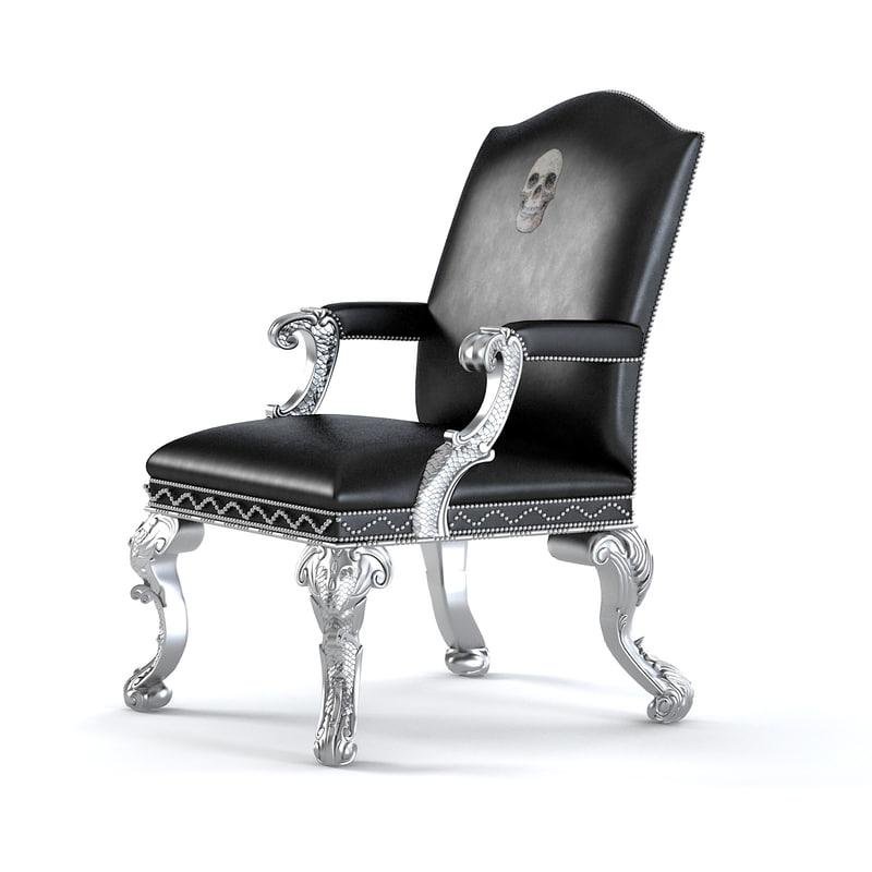 williamswitzer midnight chair obj