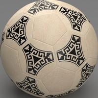 soccer ball 86 3d max