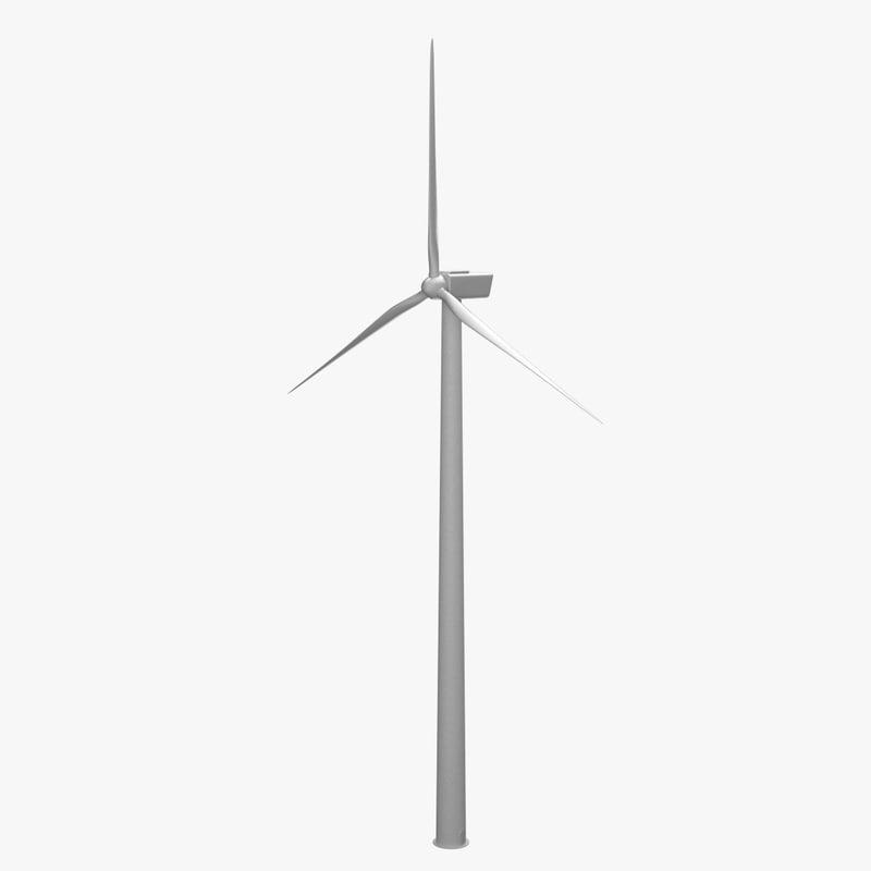 obj wind turbine