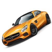 mercedes-benz amg gt 2016 3d model