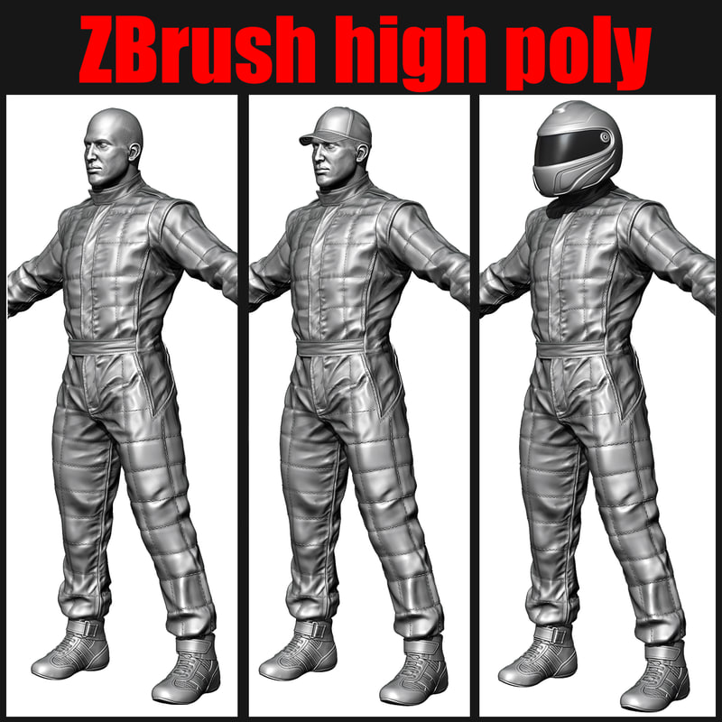 3ds max racing driver mechanic