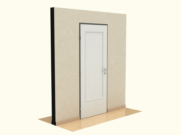 3ds max wood door