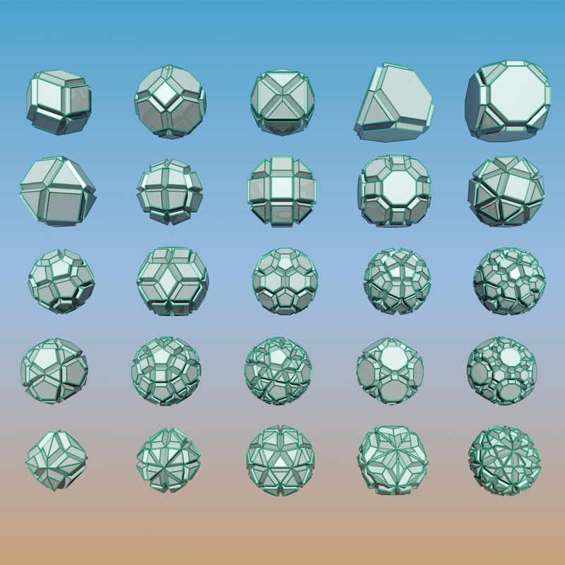 3ds max geometric shape pack