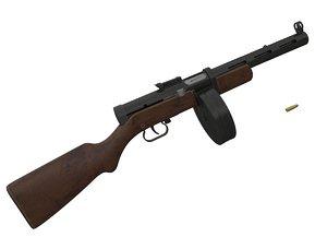 3d degtyarev ppd-40 complete model