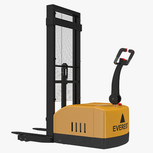 electric walkie stacker yellow max