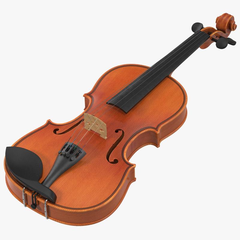 max violin modeled realistic