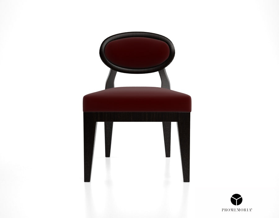 3d promemoria amina dining chair model