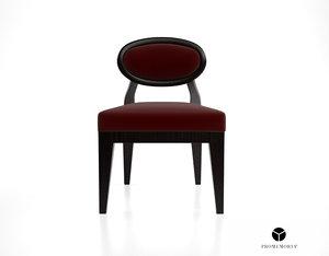 3d promemoria amina dining chair model
