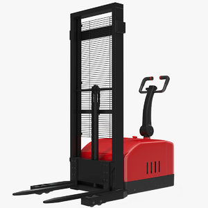 electric walkie stacker rigged max