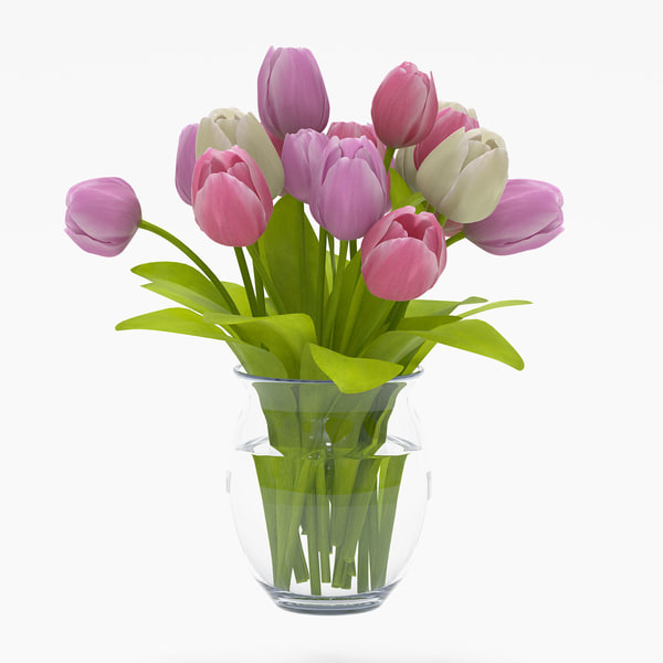 realistic tulips 3d max