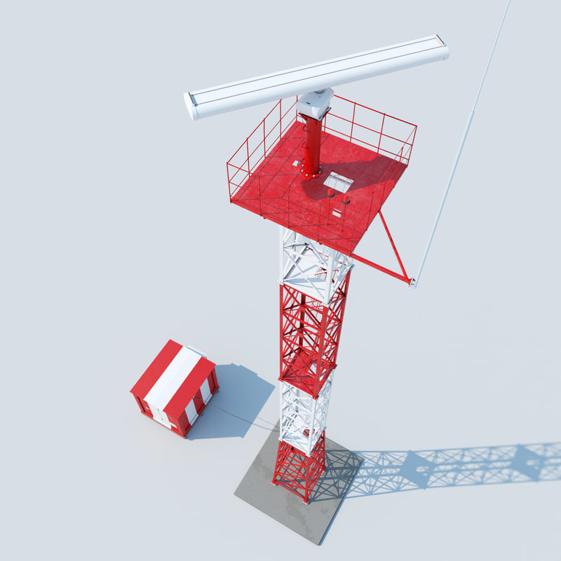 3d model airfield asmrs