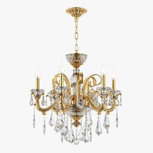 3d chandelier 788062 lusso osgona model