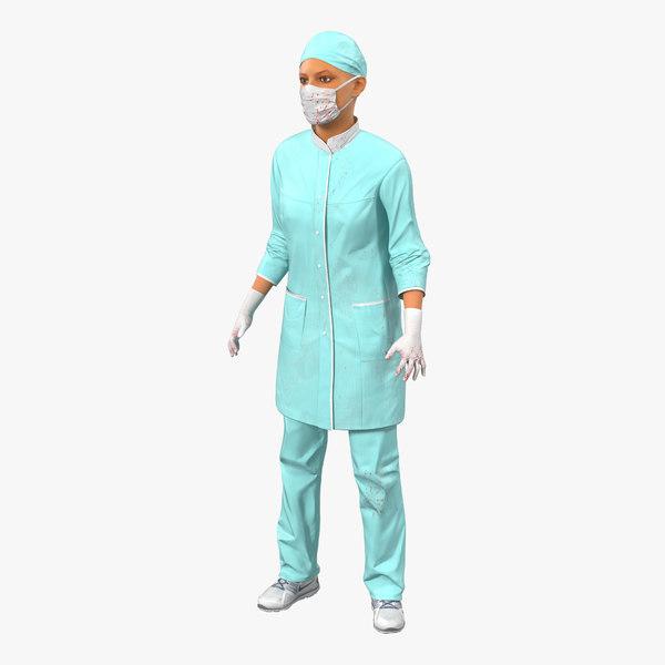 max female surgeon mediterranean blood