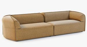 moroso massas sofa 3d max