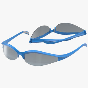 sport glasses 3 set 3d 3ds