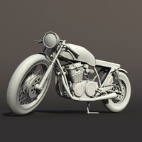 max motorcycle cafe racer