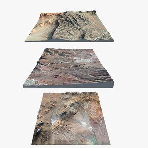 3d 3 landscapes model
