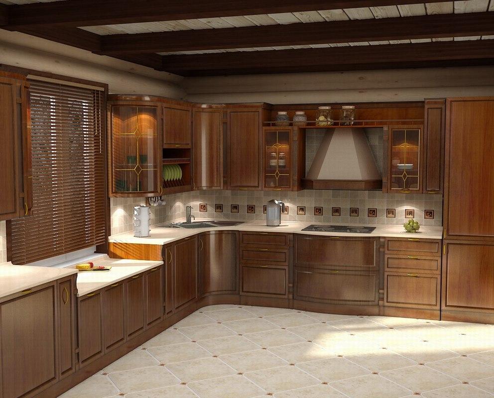 3d model kitchen emfa