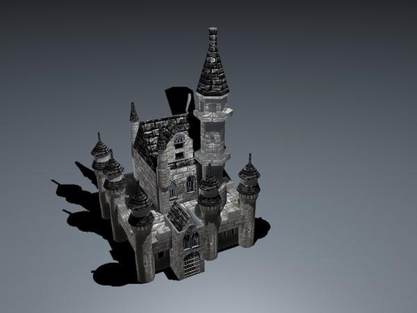 3dsmax castle