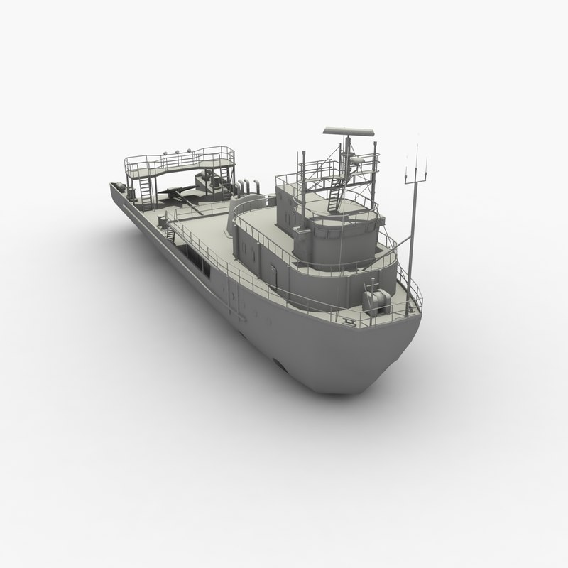 3d anchor handling tug supply model