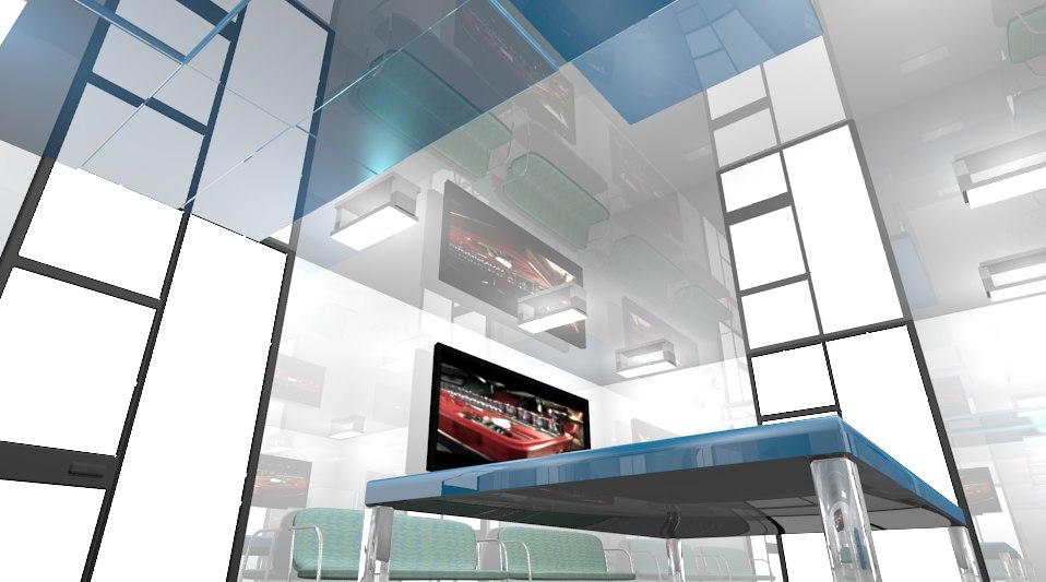 3ds max future home office design