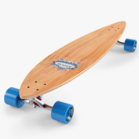 longboard 46 inch 3d max
