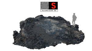3d lava timanfaya scanned 8k