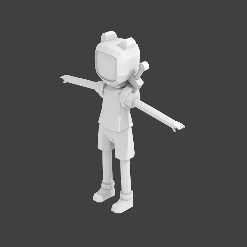 Finn Adventure Time 3d Model
