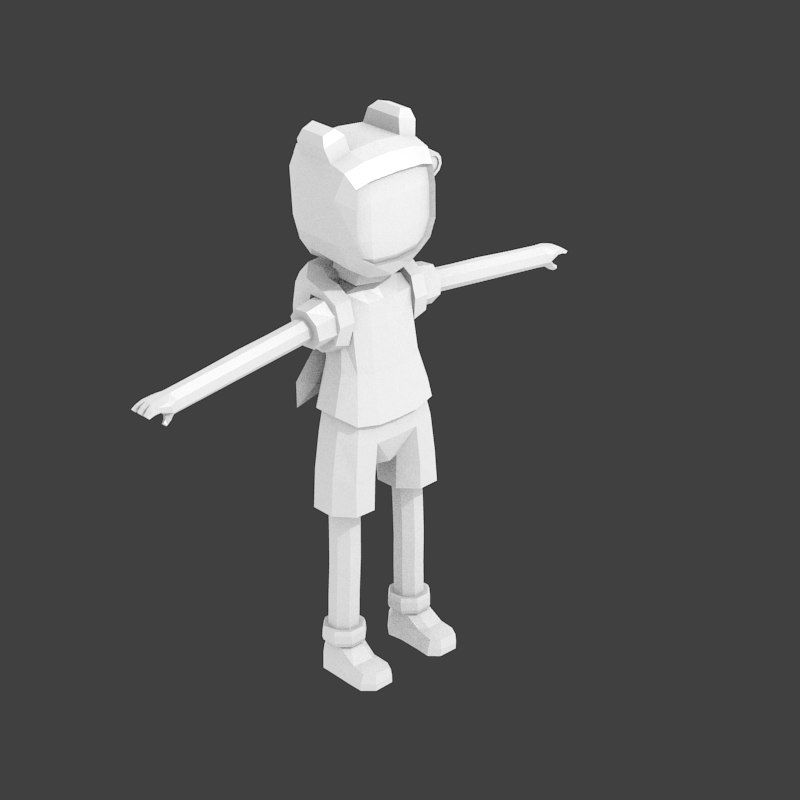 Finn Adventure Time 3d Model