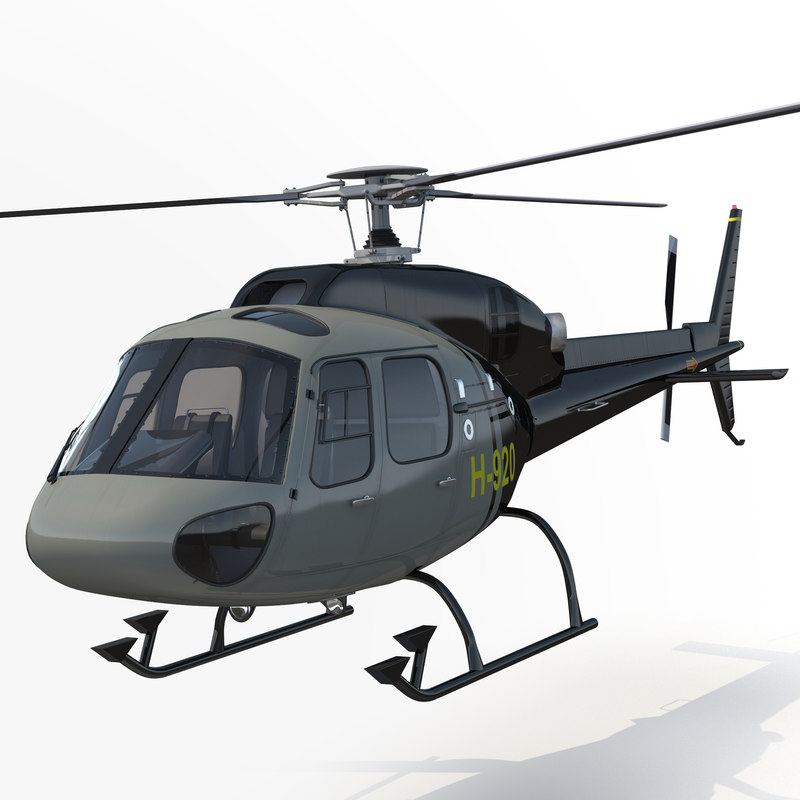 3ds light private helicopter eurocopter