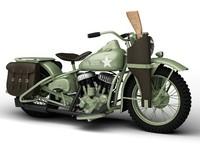 Harley-Davidson WLA 1942 WWII