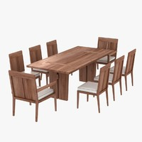 max table chairs sand dollar