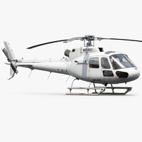 Eurocopter H125 Generic White