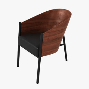 3d max coste chair