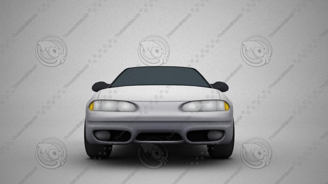 3dsmax sedan car