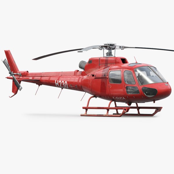 eurocopter h125 3d 3ds