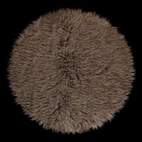 carpet flokati 3d max