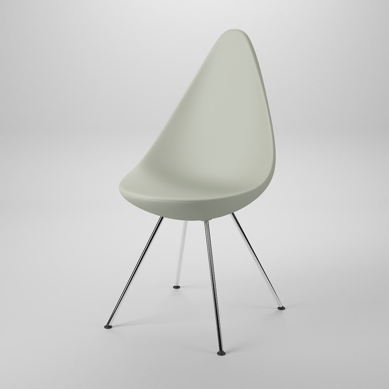 Arne jacobsen drop chair - Drop Chair Arne Jacobsen
