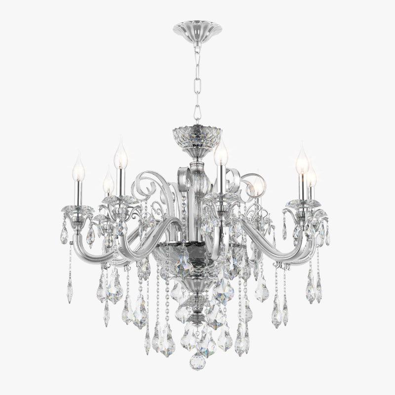 3d chandelier 788084 lusso osgona model