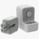 Apple 12W USB Power Adapter 2 3D Model