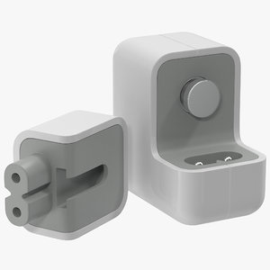 apple 12w usb power 3d max