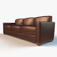 3d designer lounge sofa