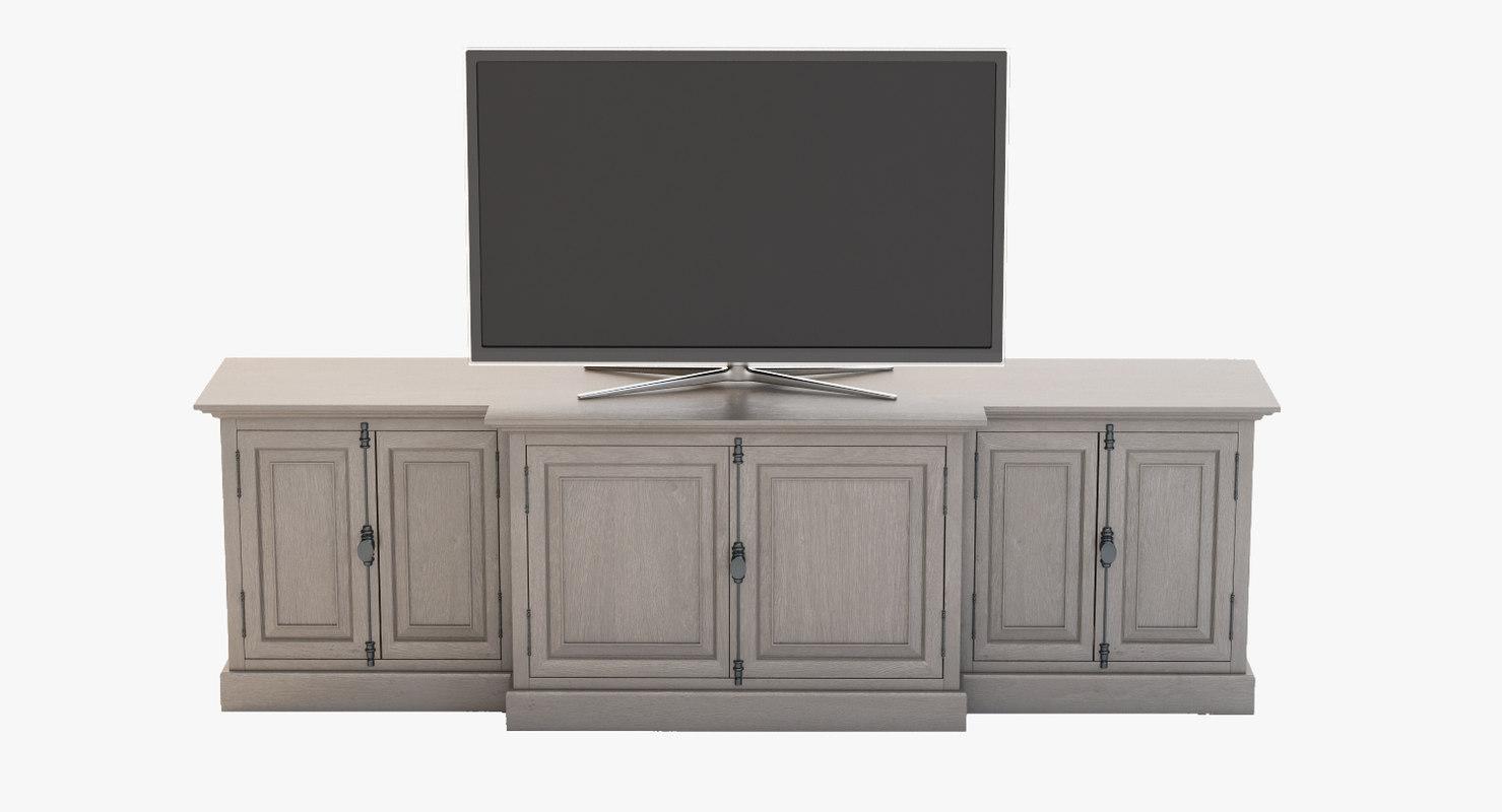 panel media console max