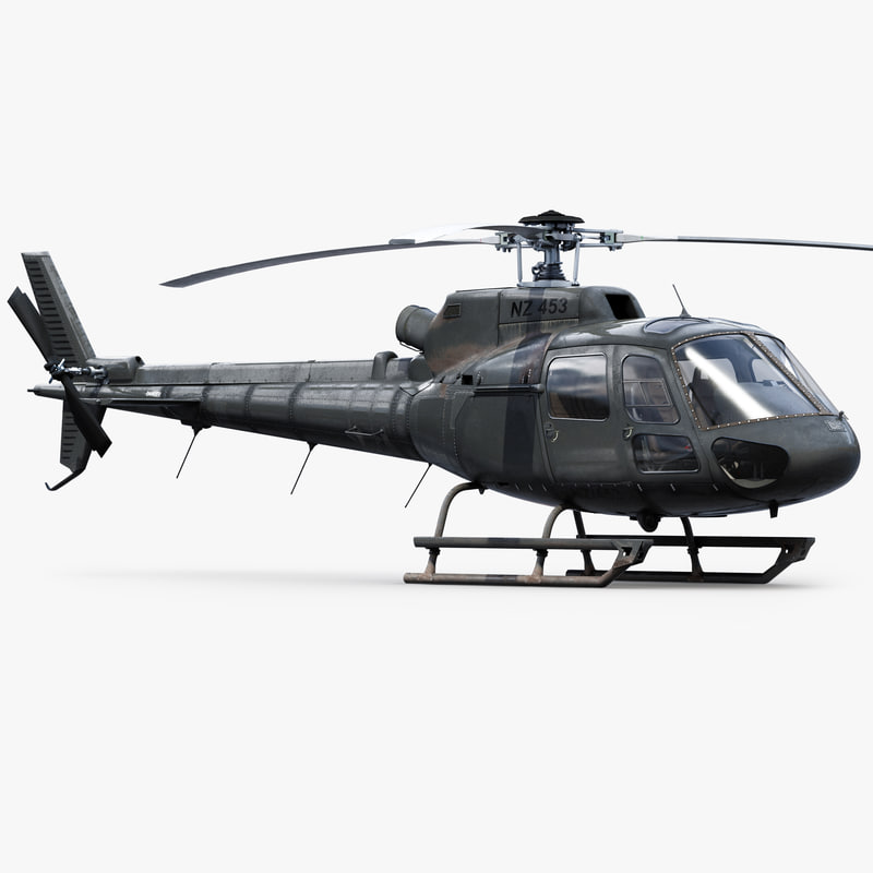 3d eurocopter h125 private
